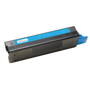 Okidata Cyan Toner Cartridge